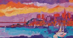 Gian Marco Crovetto : Due sguardi - Due visioni dal Mediterraneo a San Francisco - visione n� 1